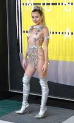 Miley Cyrus at 2015 MTV Video Music Awards in LA 8/30/2015-2