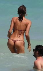 Irina Shayk in Bikini at a Beach in Miami-4