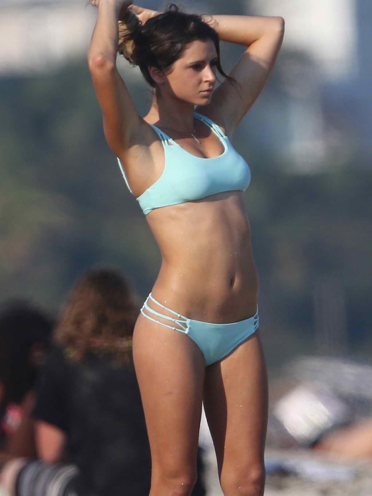 anastasia ashley in bikini at the beach in miami lacelebs co