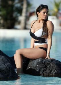 Casey Batchelor in Bikini in Tenerife 12/22/2015-13