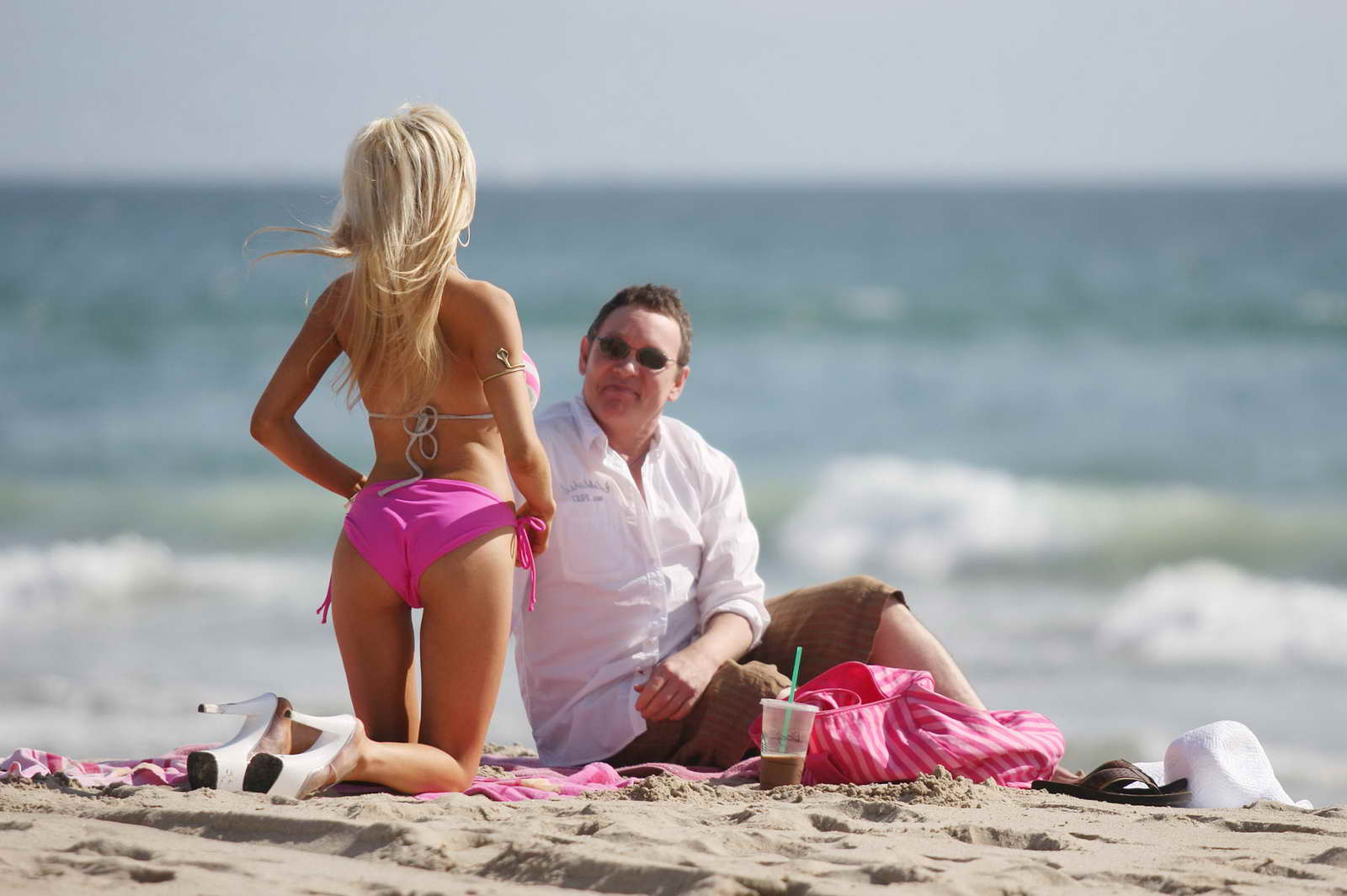 Courtney Stodden in Bikini on the beach in Malibu Pic 10 of 35