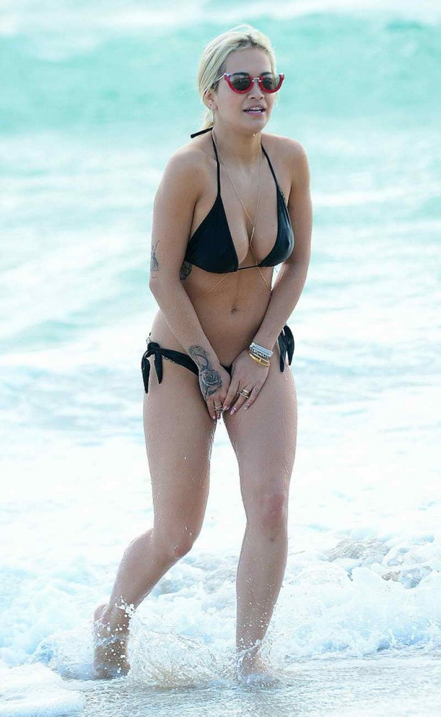 Rita Ora in Bikini in Miami 12/28/2015-1
