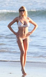 Charlotte McKinney in Bikini at the Venice Beach-3