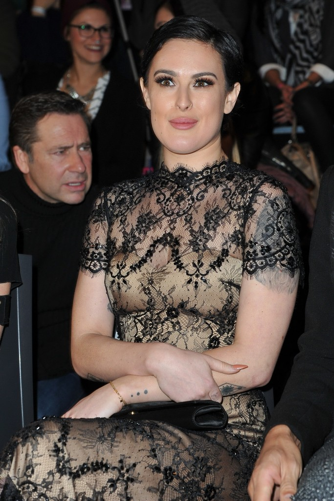 Rumer Willis Attends the Lavera Show During the Mercedes-Benz Fashion Week in Berlin 01/20/2016-1