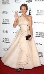 Arielle Kebbel Arrives at the Make-Up Artists and Hair Stylists Guild Awards in Hollywood 02/20/2016-5