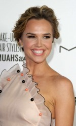 Arielle Kebbel Arrives at the Make-Up Artists and Hair Stylists Guild Awards in Hollywood 02/20/2016-7