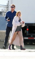 Bella Thorne on the Set of Amityville: The Awakening in Los Angeles 02/11/2016-4