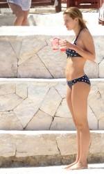 Bella Thorne in Bikini on the Beach in Mexico 02/14/2016-3