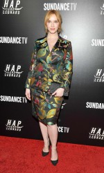 Christina Hendricks at Hap and Leonard Private Premiere Party in New York City 02/25/2016