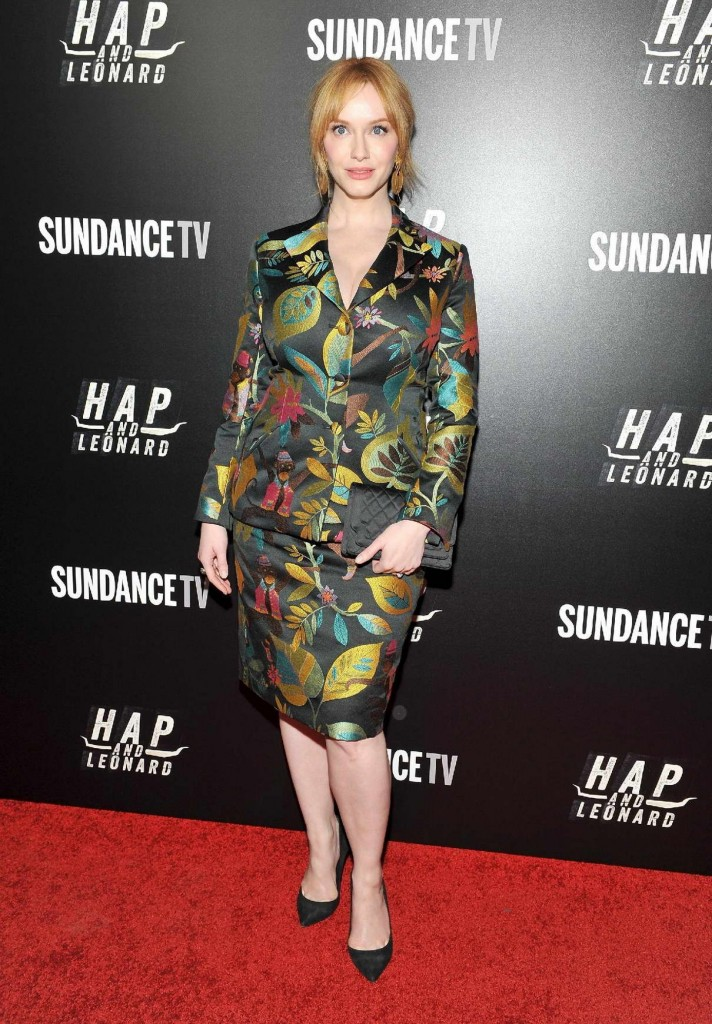 Christina Hendricks at Hap and Leonard Private Premiere Party in New York City 02/25/2016-1