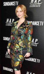 Christina Hendricks at Hap and Leonard Private Premiere Party in New York City 02/25/2016-2
