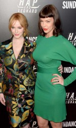 Christina Hendricks at Hap and Leonard Private Premiere Party in New York City 02/25/2016-4