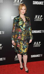Christina Hendricks at Hap and Leonard Private Premiere Party in New York City 02/25/2016-5
