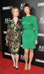Christina Hendricks at Hap and Leonard Private Premiere Party in New York City 02/25/2016-6