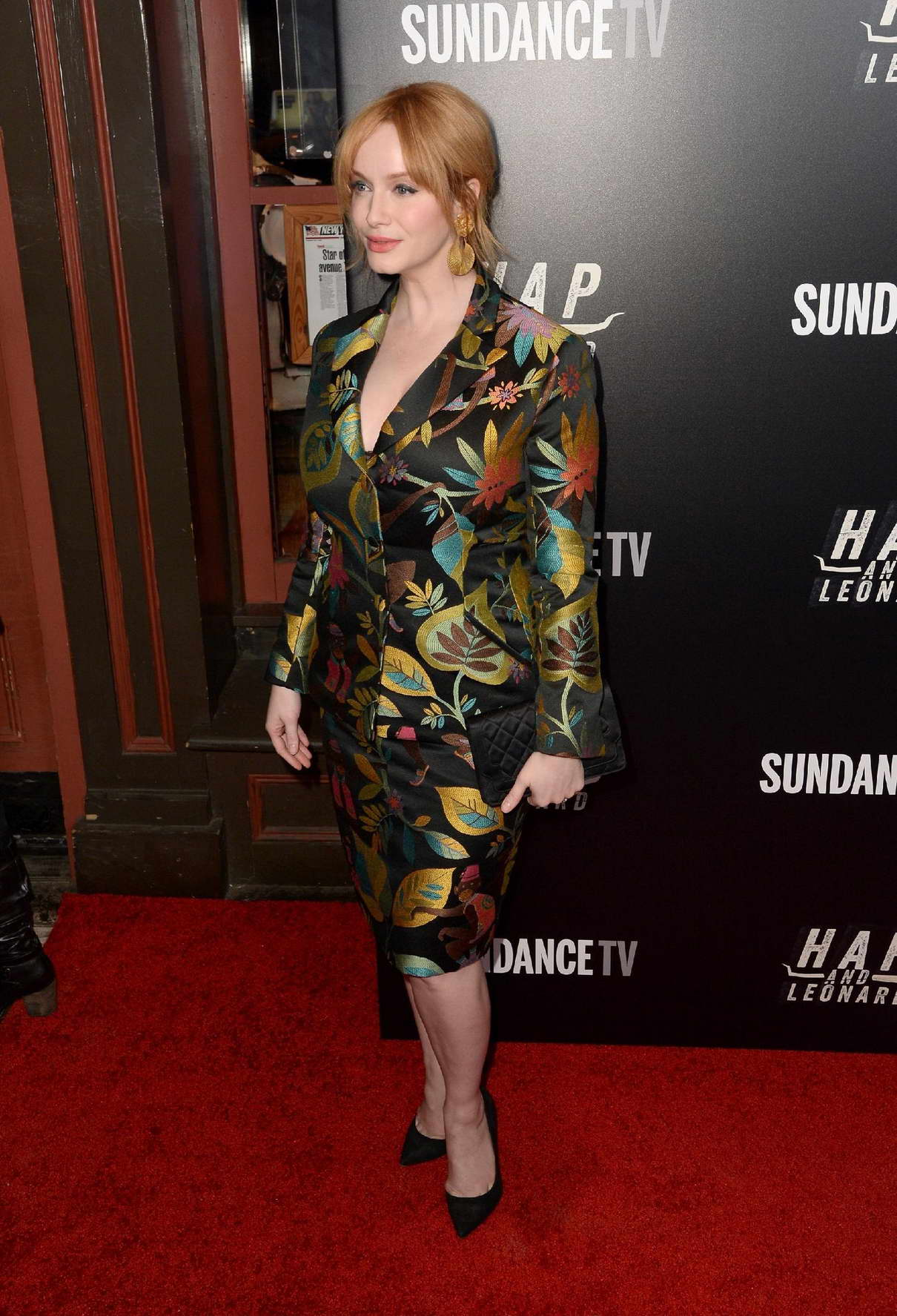 Christina Hendricks at Hap and Leonard Private Premiere Party in New York City 02/25/2016-7