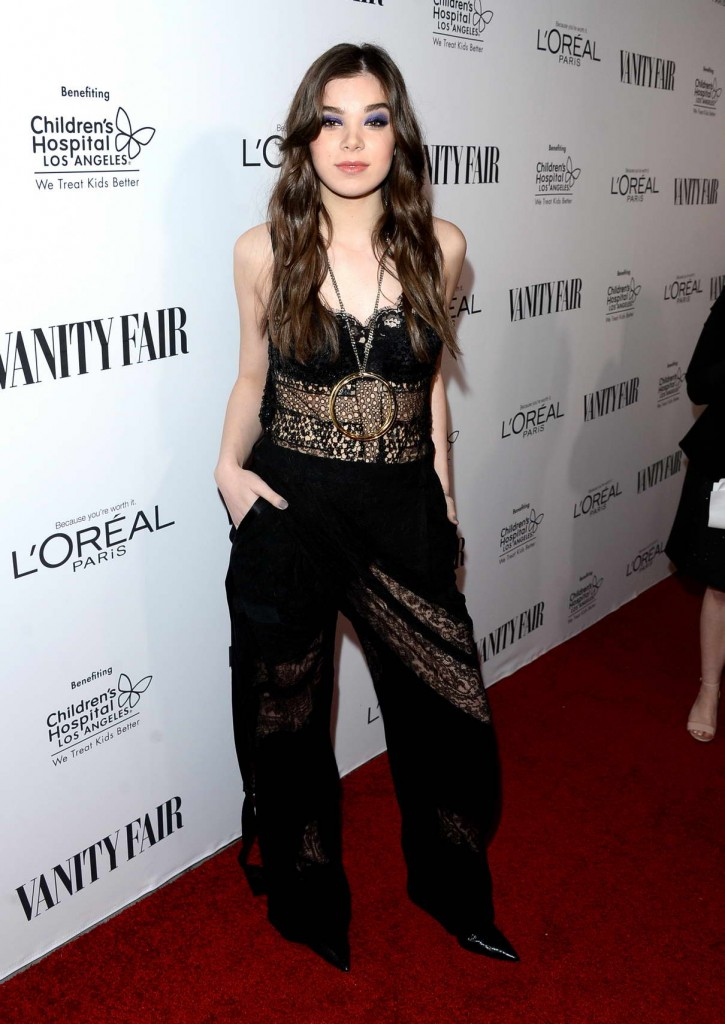 Hailee Steinfeld at Vanity Fair, L'Oreal Paris and Hailee Steinfeld Host DJ Night in West Hollywood 02/26/2016-1