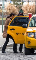 Irina Shayk Catching a Cab in New York 02/11/2016-5