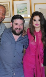 Selena Gomez at the Morning Mash Up on SiriusXM Hits 1 in Beverly Hills 02/04/2016-5