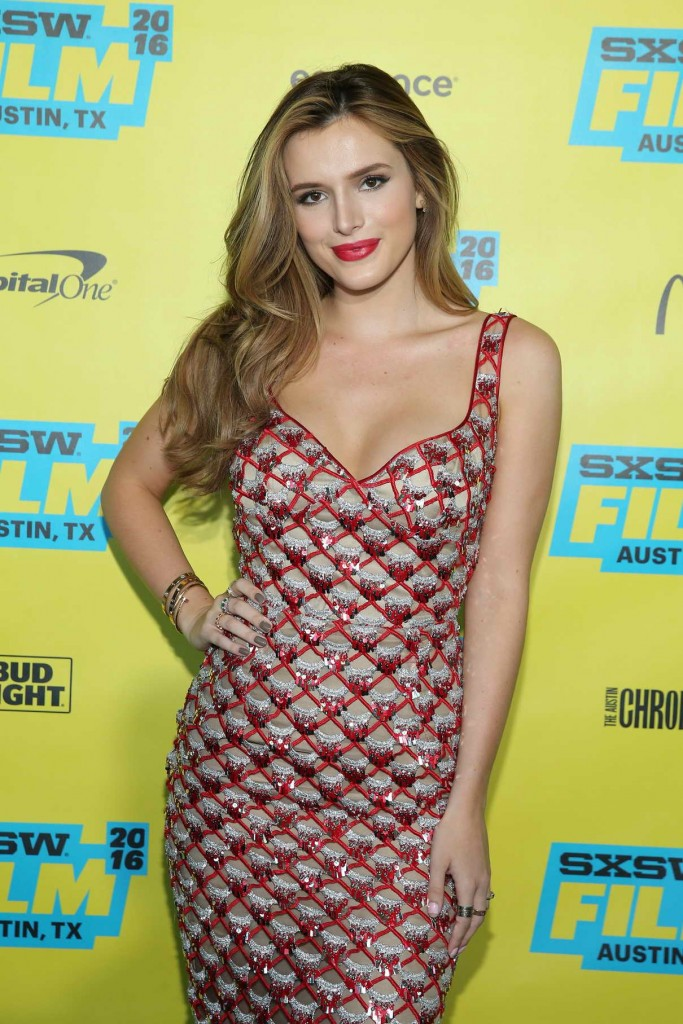 Bella Thorne at Shovel Buddies Premiere During 2016 SXSW Festival in Austin 03/14/2016-1