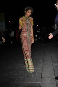 Ciara Arriving at H&M Fashion Show in Paris 03/02/2016-2