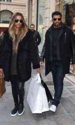Ciara Shopping in Paris 03/06/2016