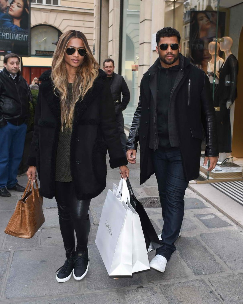 Ciara Shopping in Paris 03/06/2016-1