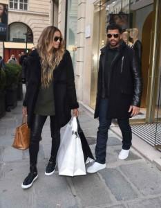 Ciara Shopping in Paris 03/06/2016-2
