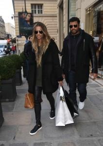 Ciara Shopping in Paris 03/06/2016-3