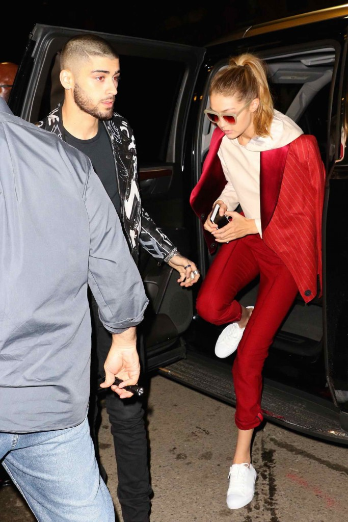Gigi Hadid Attends Album Release Party in New York 03/25/2016-1