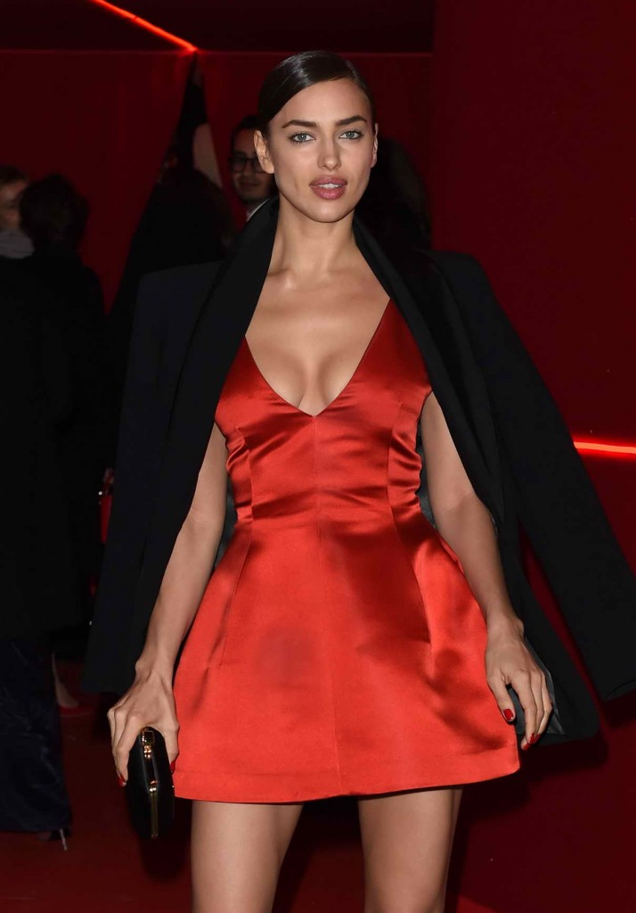 Irina Shayk at L'Oreal Red Obsession Party in Paris 03/08/2016-1