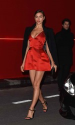 Irina Shayk at L'Oreal Red Obsession Party in Paris 03/08/2016-2