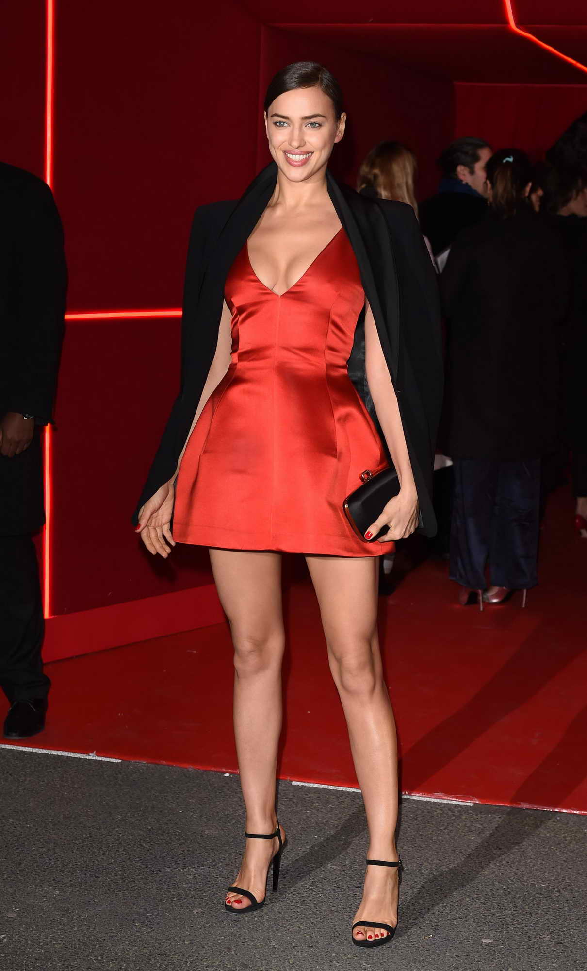 Irina Shayk at L'Oreal Red Obsession Party in Paris 03/08/2016-3