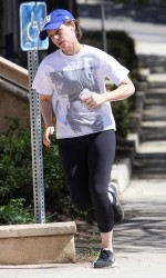 Kate Mara Jogging in Los Angeles 03/23/2016-5