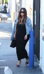 Kim Kardashian Arriving at the Studio in Van Nuys 03/25/2016-3