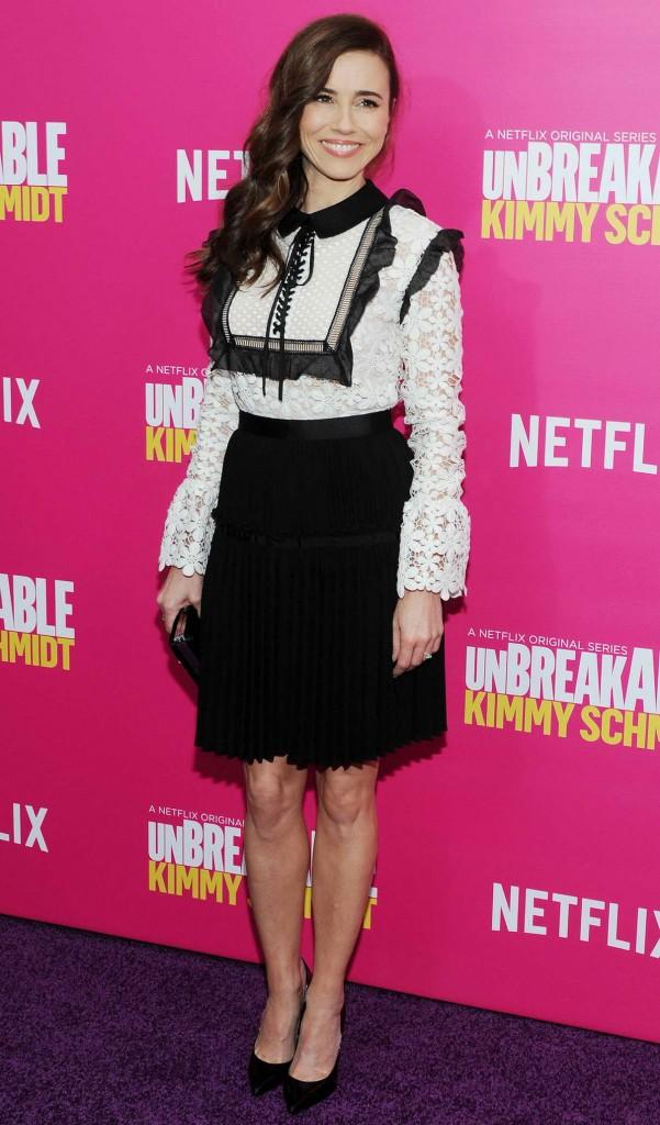 Linda Cardellini at Unbreakable Kimmy Schmidt Season 2 Premiere in New York 03/30/2016-1
