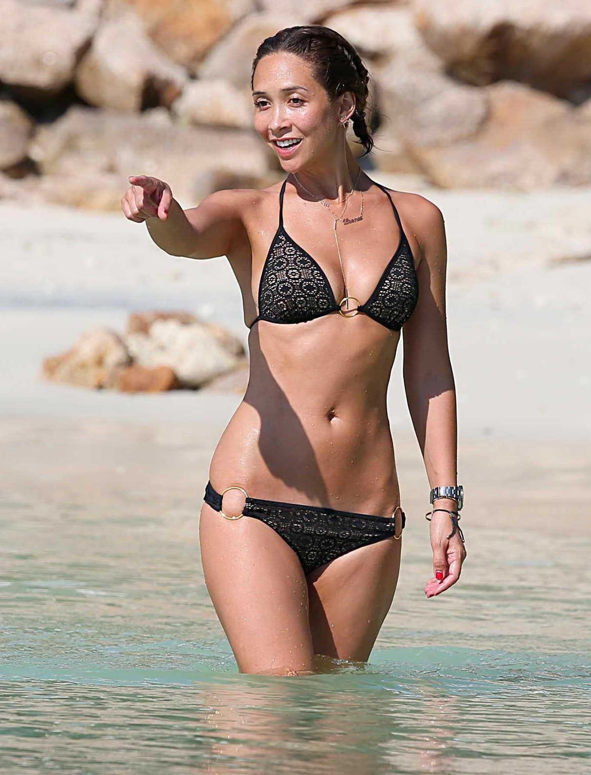 Myleene klass in bikini at the beach in thailand 03 14 2016 9