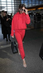 Selena Gomez at LAX Airport in Los Angeles 03/07/2016-3