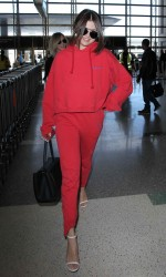 Selena Gomez at LAX Airport in Los Angeles 03/07/2016-4