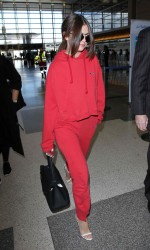 Selena Gomez at LAX Airport in Los Angeles 03/07/2016-5