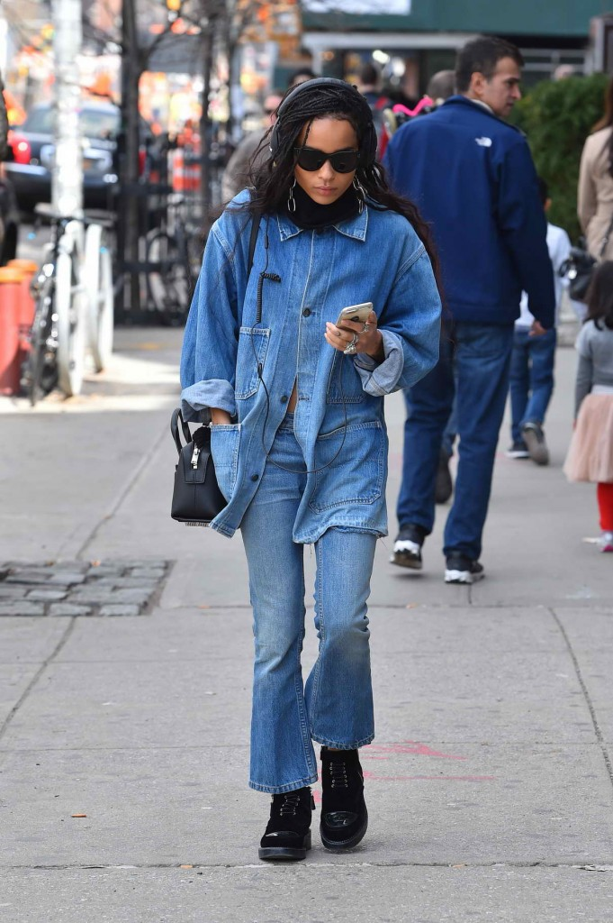 Zoe Kravitz Out in New York City 03/17/2016-1