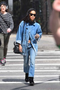 Zoe Kravitz Out in New York City 03/17/2016-2