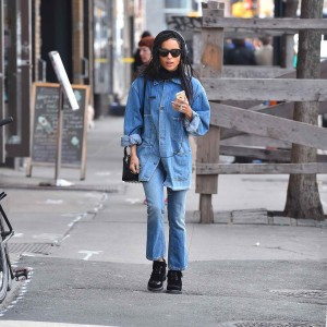 Zoe Kravitz Out in New York City 03/17/2016-3