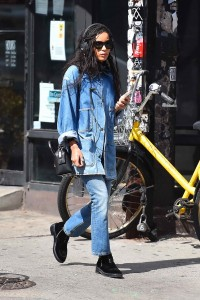 Zoe Kravitz Out in New York City 03/17/2016-4
