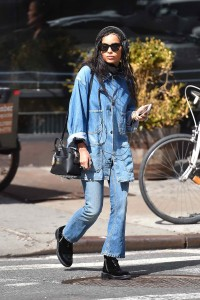 Zoe Kravitz Out in New York City 03/17/2016-5