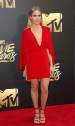 Brittany Snow at MTV Movie Awards in Burbank 04/09/2016-2