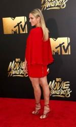 Brittany Snow at MTV Movie Awards in Burbank 04/09/2016-3