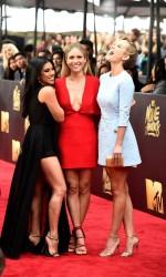 Brittany Snow at MTV Movie Awards in Burbank 04/09/2016-5