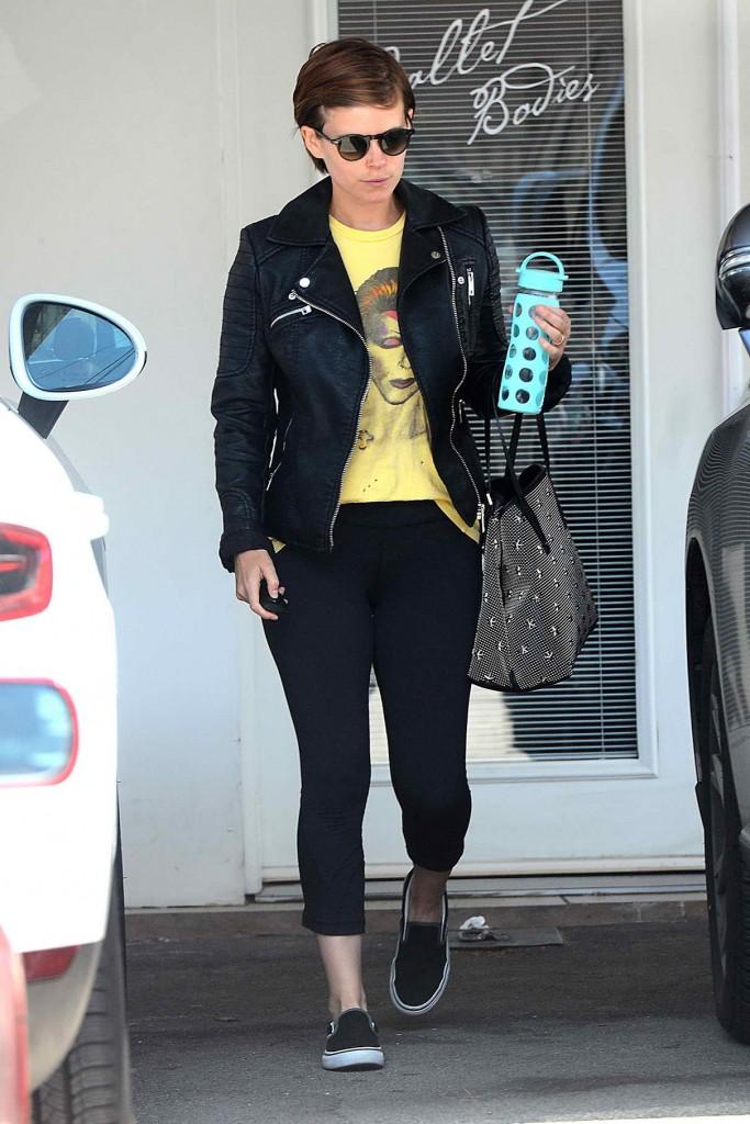 Kate Mara Leaves Her Gym in West Hollywood 04/12/2016-2