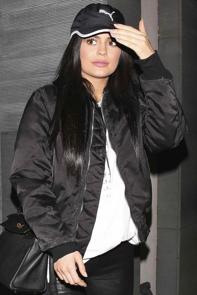 Kylie Jenner Was Spotted at Nobu in West Hollywood 04/21/2016-1