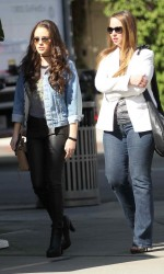 Madison Pettis Shopping in Beverly Hills 04/01/2016-4